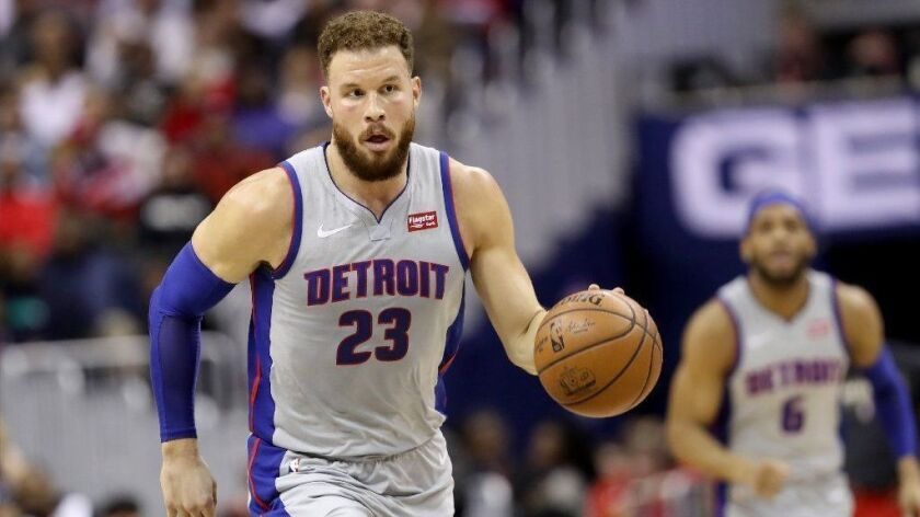 Former L.A. Clippers power forward Blake Griffin has listed his home in Pacific Palisades for sale at $10.995 million. The five-time all-star bought the property six years ago for $9 million.