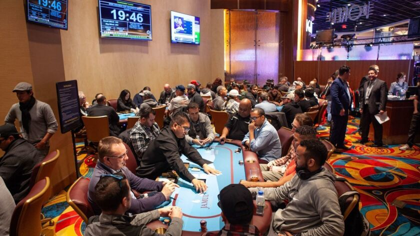 Jamul Casino's poker room