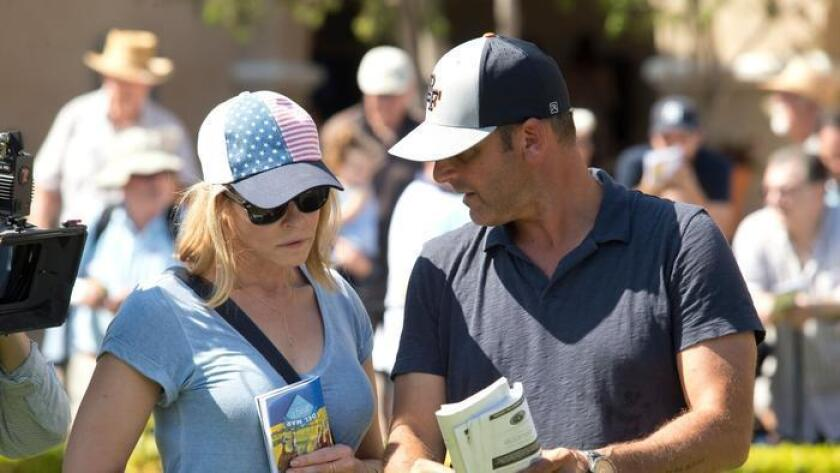 Chelsea Handler and Billy Koch in Del Mar. (/ Benoit Photography)