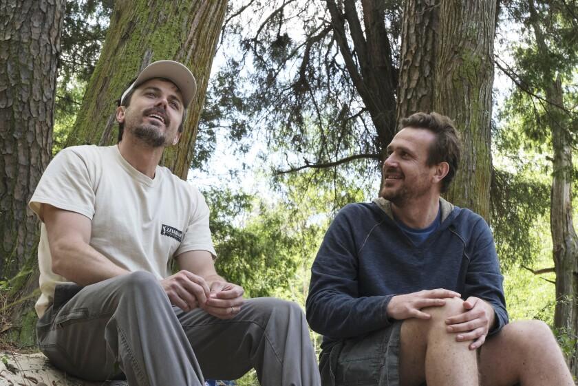 Jason Segel as Dane Faucheux, Casey Affleck as Matt Teague