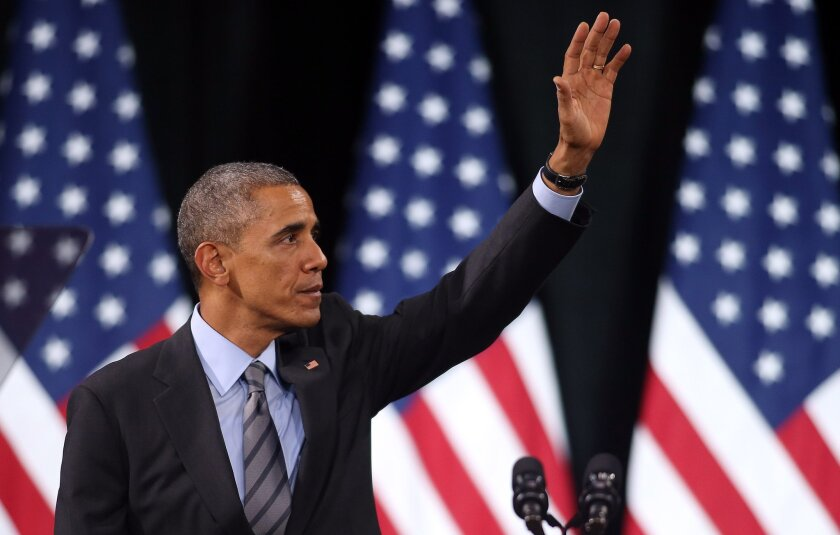 President Obama delivers remarks regarding his executive action on immigration at Del Sol High School in Las Vegas, Nev.