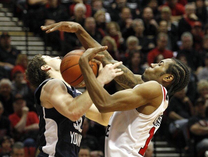 BYU's Jimmer Fredette (left) and SDSU's Kawhi Leonard had some memorable battles the last two years.