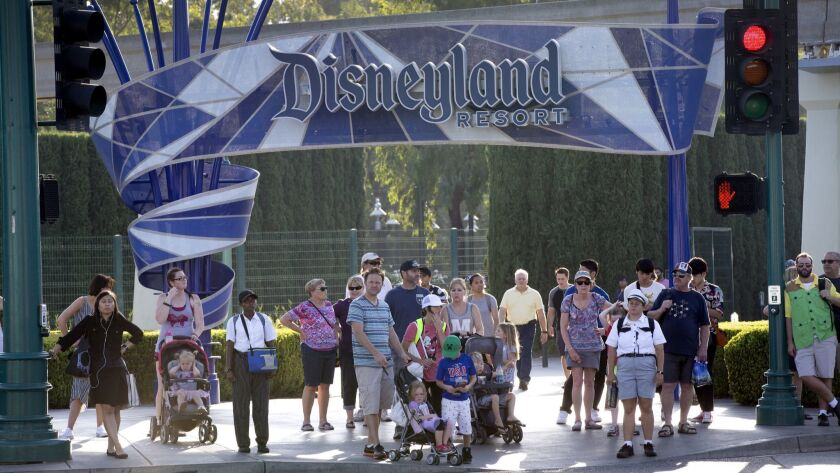 Disneyland Resort's parent company opposed Measure L. There is still debate over whether the measure, which will require some hospitality businesses to pay workers at least $15 an hour, will apply to Disneyland employees.