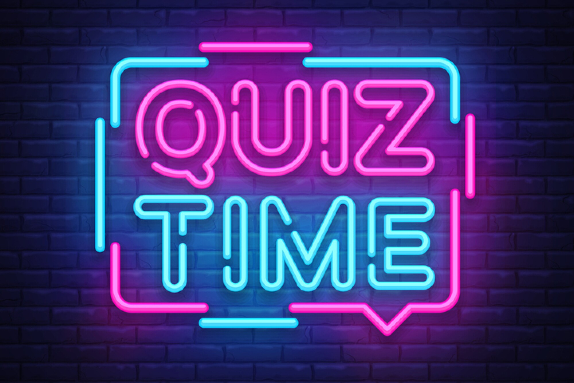 """Picture of a sign that says """"Quiz Time."""""""
