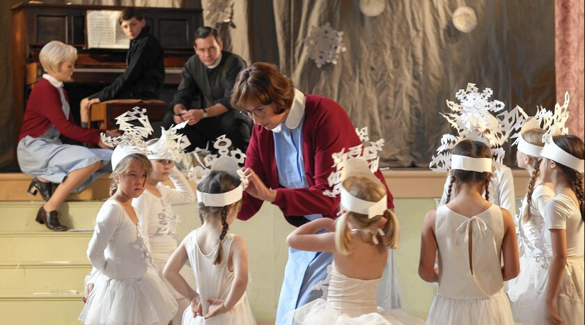 """Rehearsals for the Sunday Shool Christmas concert are underway, creating inconvenience for the nuns and nurses of Nonnatus House in """"Call the Midwife."""""""