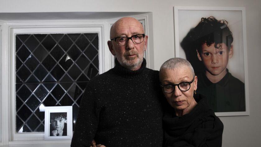 STUDIO CITY, CA-JANUARY 16, 2019: Viktor and Irina Yelchin, parents of Anton Yelchin, the 27 year ol