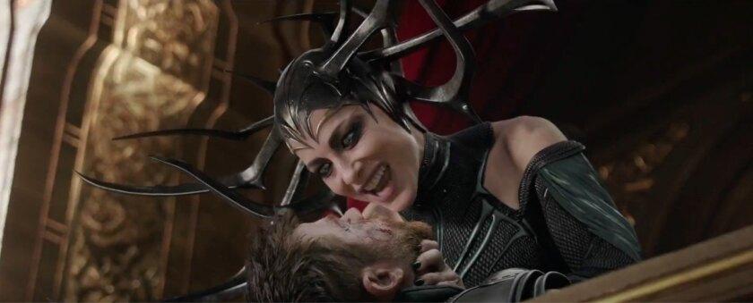 Cate Blanchett se pone en la piel de una fiera villana en la tercera entrega indicidual de Thor.