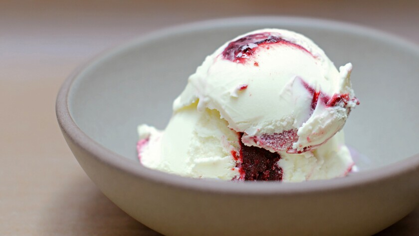 Oregon marionberries, cooked to a jammy perfection and folded into tart and tangy, Eureka lemon-infused California Central Coast, grass-fed milk & cream.