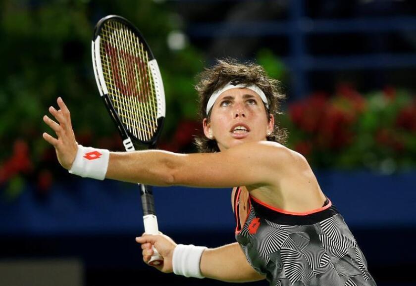 La tenista española Carla Suárez. EFE/Archivo