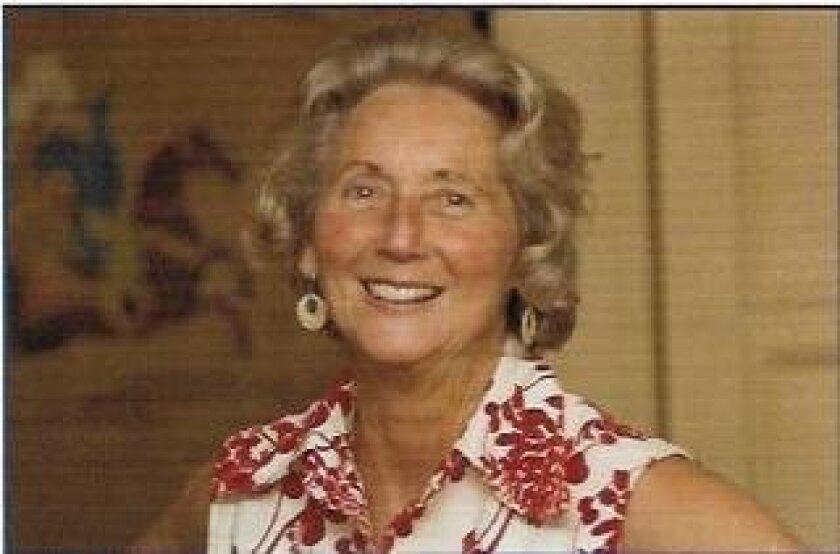 The late artist Georgeanna Lipe