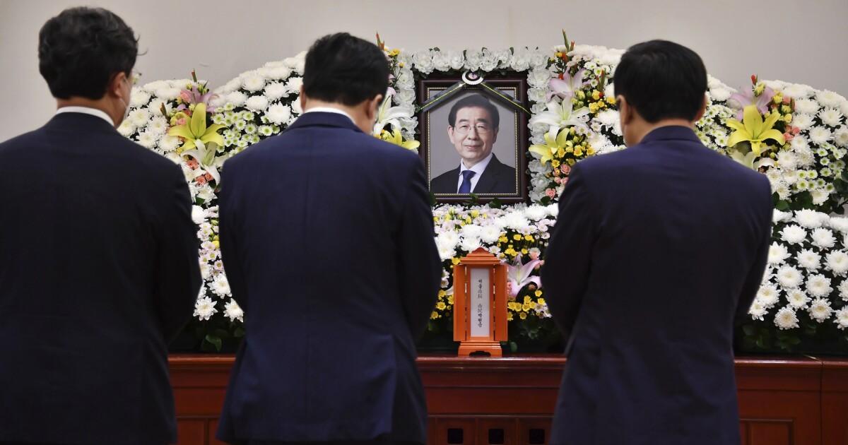 Seoul Mayor Park Won-soon left note saying 'sorry'