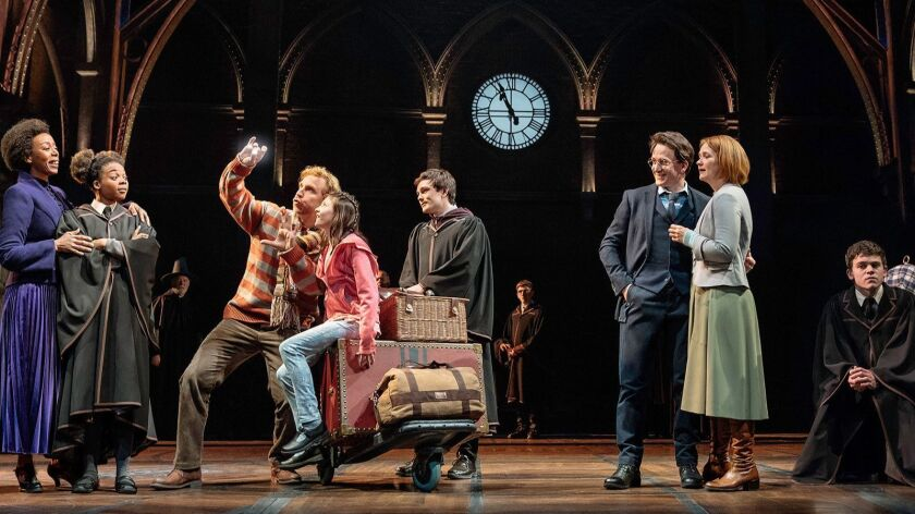 "A scene on Platform 9ae in ""Harry Potter and the Cursed Child""(Manuel Harlan ) ** OUTS - ELSENT, FPG"