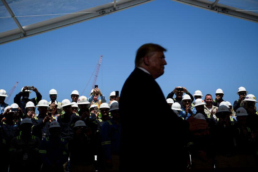 Trump at Cameron LNG
