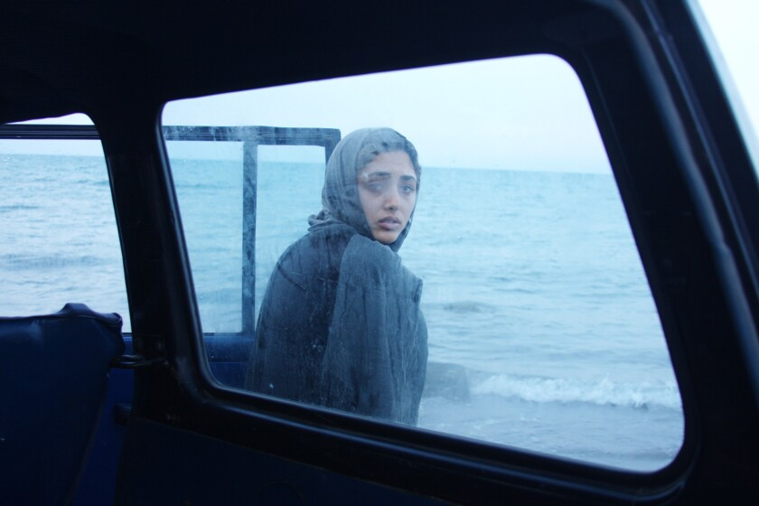 """Review: 'About Elly,' a film by """"A Separation's' Asghar Farhadi, explores the dark path a white lie takes"""