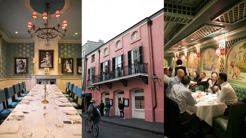 Brennan's has high-end French Creole food in historic French Quarter of New Orleans