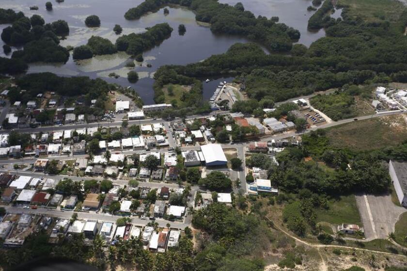 Vista aérea de Arecibo en Puerto Rico. EFE/Archivo