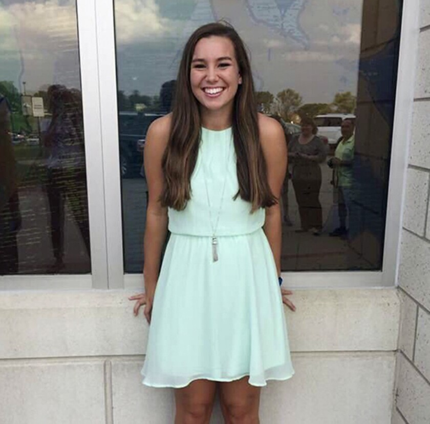 Mollie Tibbetts has been missing since July 18.