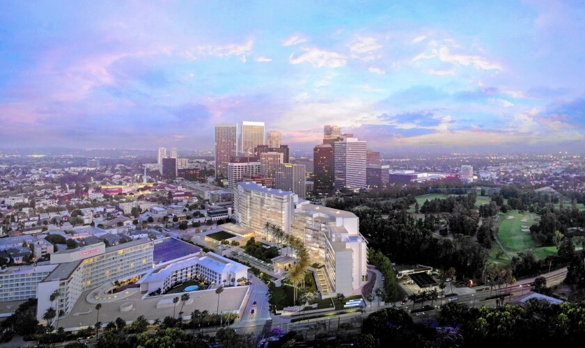 Planned Beverly Hills luxury hotel