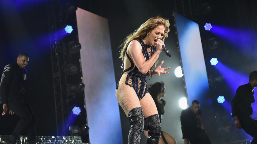 Foto de archivo de la cantante Jennifer López.