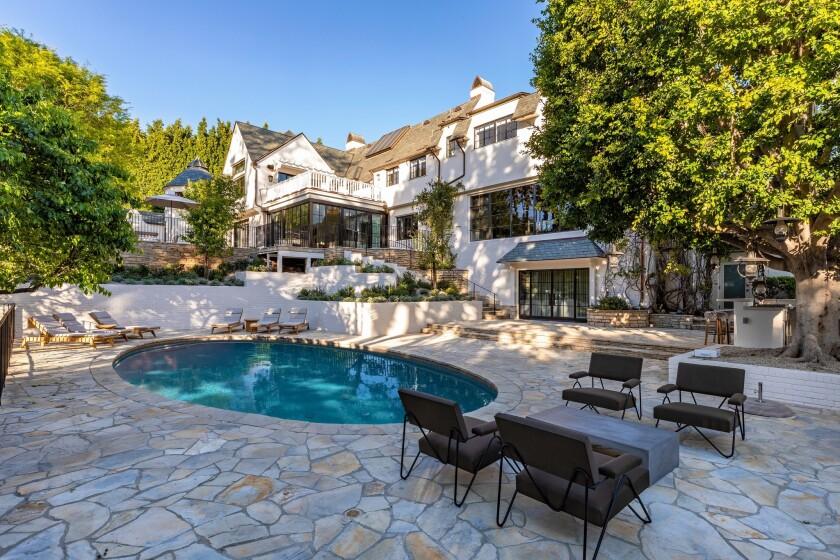 Adam Levine's Beverly Hills home   Hot Property