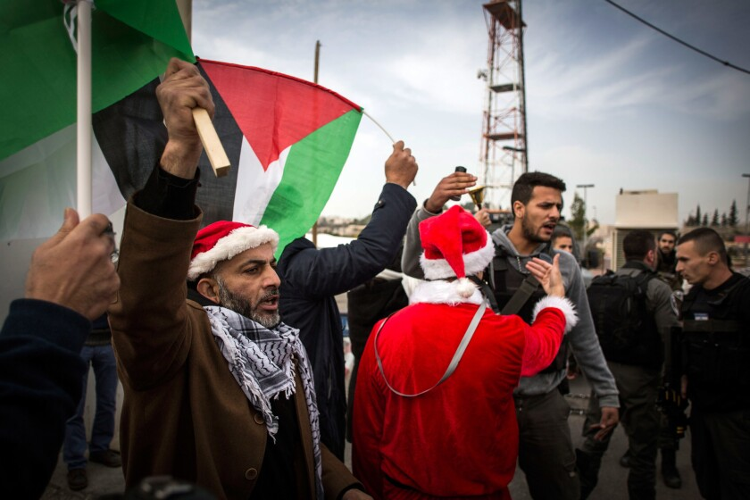 Protests in Bethlehem
