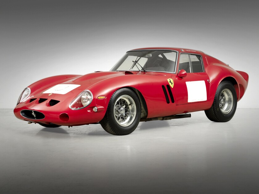 Perhaps the most notable car to be sold at this year's Monterey auctions is a 1962 Ferrari 250 GTO, regarded by many as the holy grail of classic cars. Bonhams is selling the car at no reserve (no minimum price). Some experts say the car could sell for as much as $60 million to $70 million.