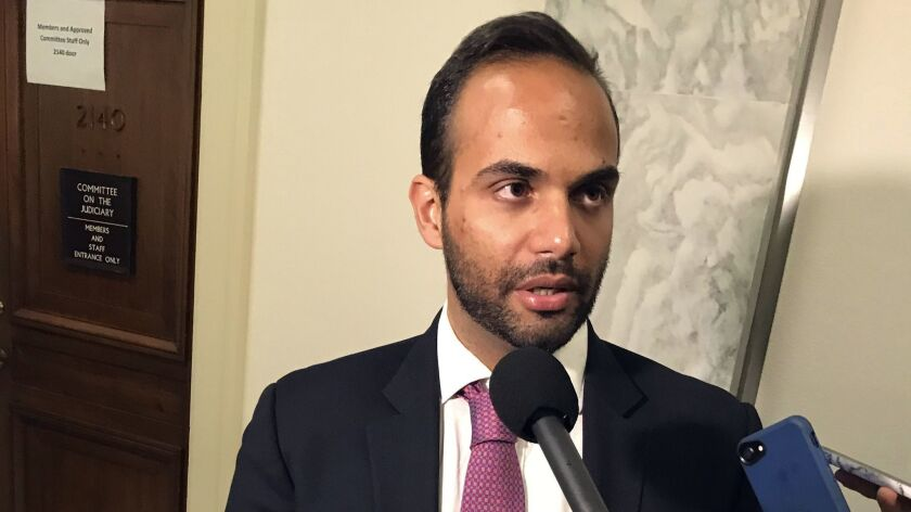 George Papadopoulos, the former Trump campaign adviser who triggered the Russia investigation, talks