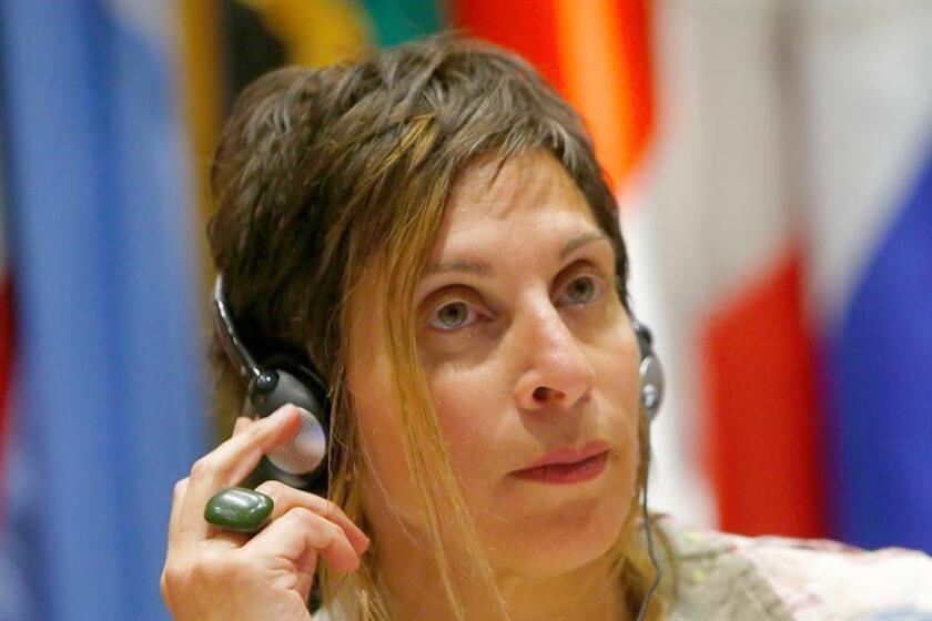 La relatora especial de la ONU sobre el derecho a la vivienda adecuada, Leilani Farha. EFE/ARCHIVO