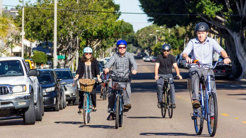 City employee bikeshare