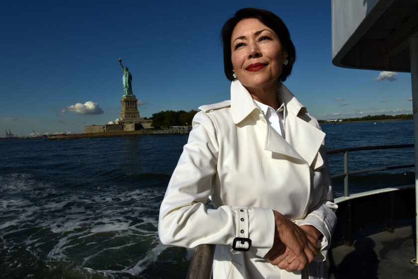 "Journalist Ann Curry says that a good way to ""travel"" when you can't get away is by reading books about the places you'd like to visit."