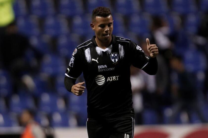 El colombiano Edwin Cardona, delantero de los Rayados del Monterrey, fue el único jugador sancionado tras cuarta jornada del Clausura 2017, informó hoy la Comisión Disciplinaria de la Liga MX del fútbol mexicano. EFE/ARCHIVO