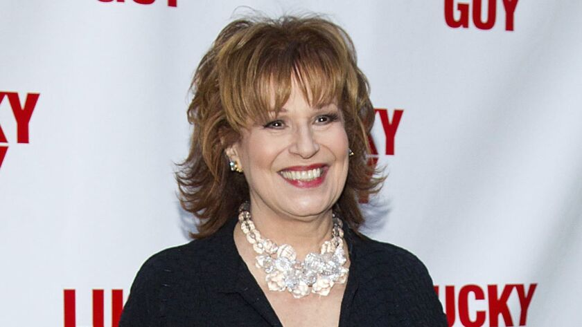 "Joy Behar arrives at the ""Lucky Guy"" Opening Night in New York."