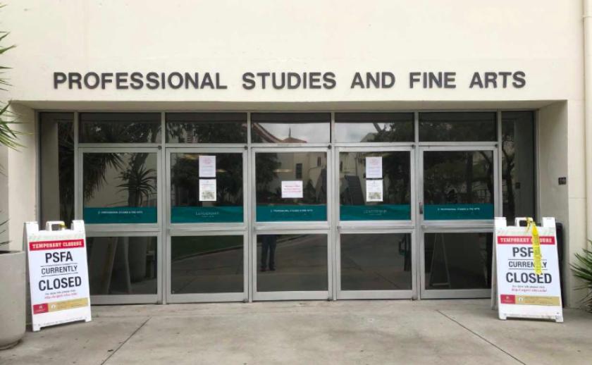 Professional Studies and Fine Arts building, SDSU