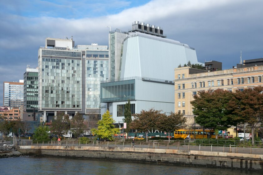 The new Whitney Museum in Manhattan