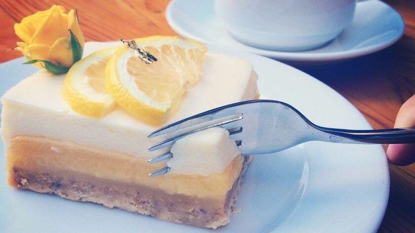 Lemon Cheesecake Bar at Extraordinary Desserts.