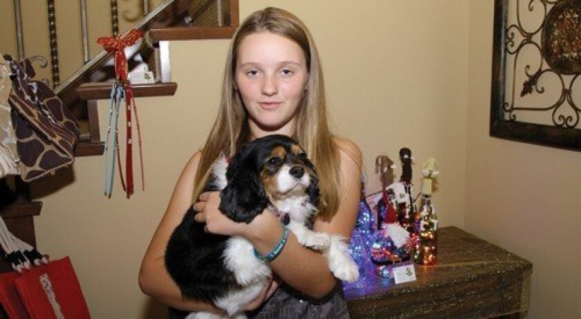 Miranda Phillips with her dog Missy (Photo: Jon Clark)