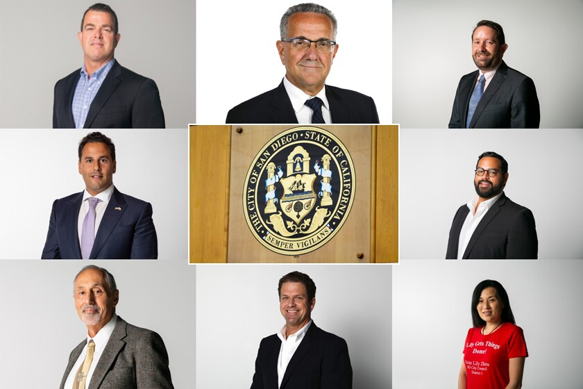 San Diego City Council District 1 candidates