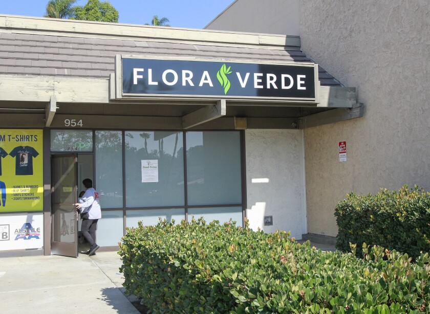 Flora Verde marijuana dispensary.