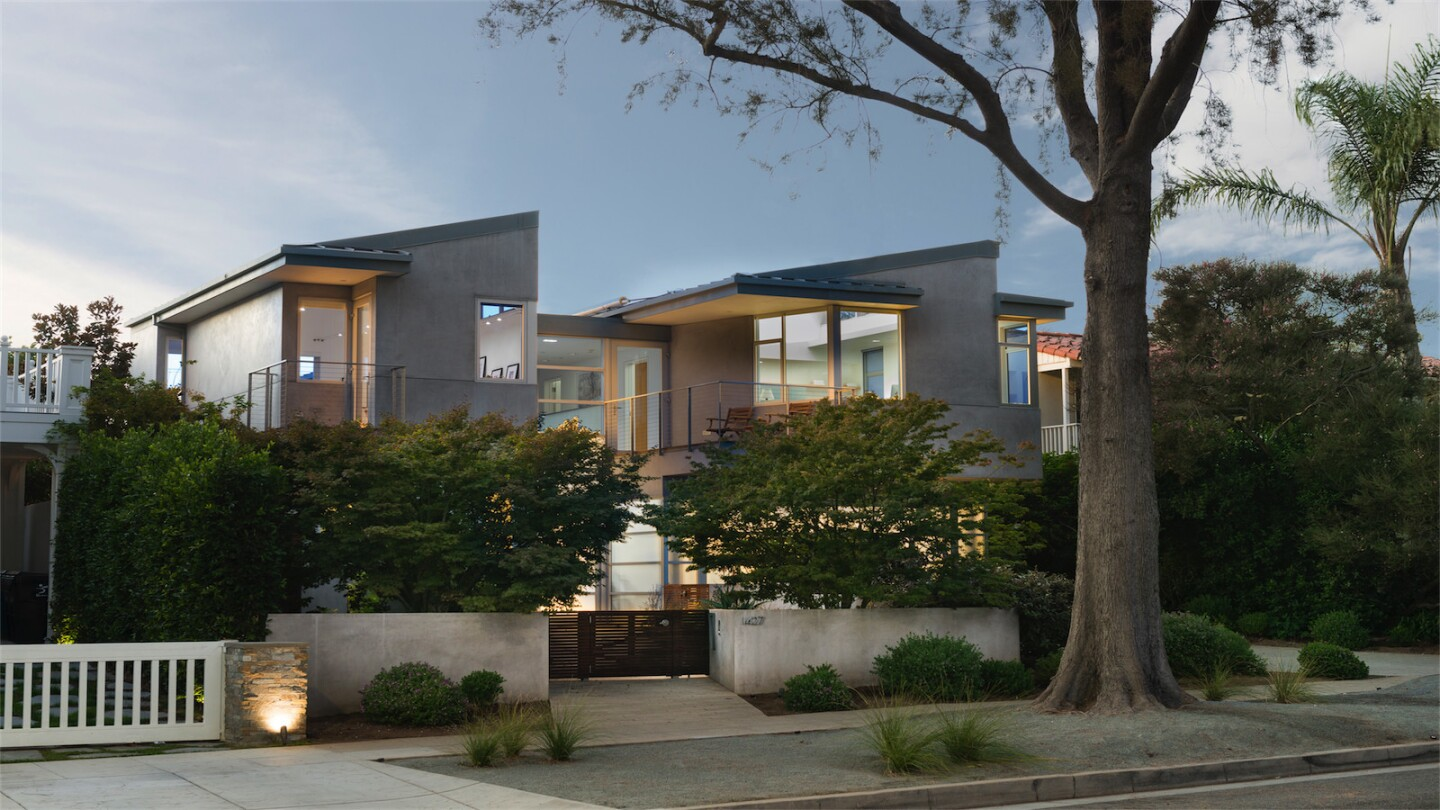 Sustainable home in Santa Monica