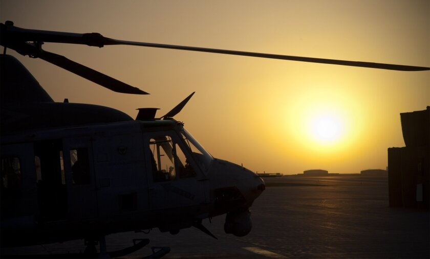 HMLA-469 of Camp Pendleton during their tour in Helmand province, Afghanistan.