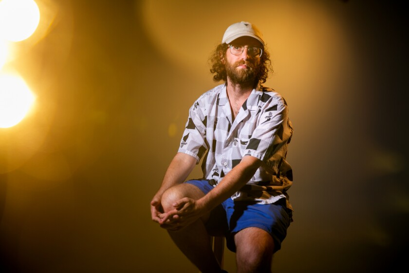 Comedian Kyle Mooney poses for a portrait on July 5, 2019 in San Diego, California.