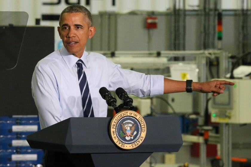 Presidente Barack Obama. (AP Photo/Gary McCullough)