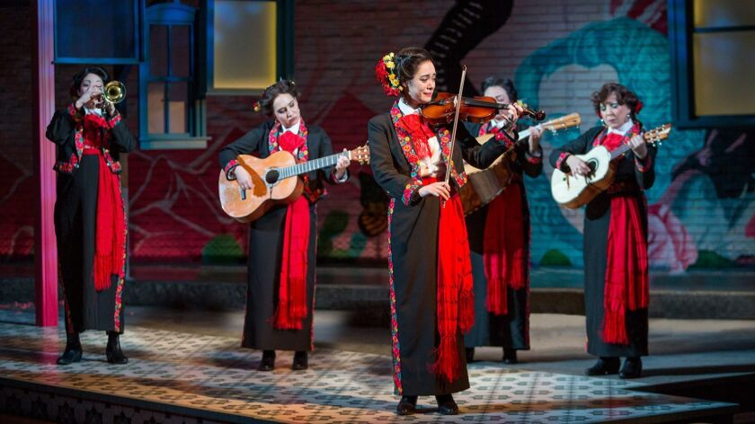 """The new comedy """"American Mariachi"""" has its premiere this week at the Old Globe Theatre in San Diego."""