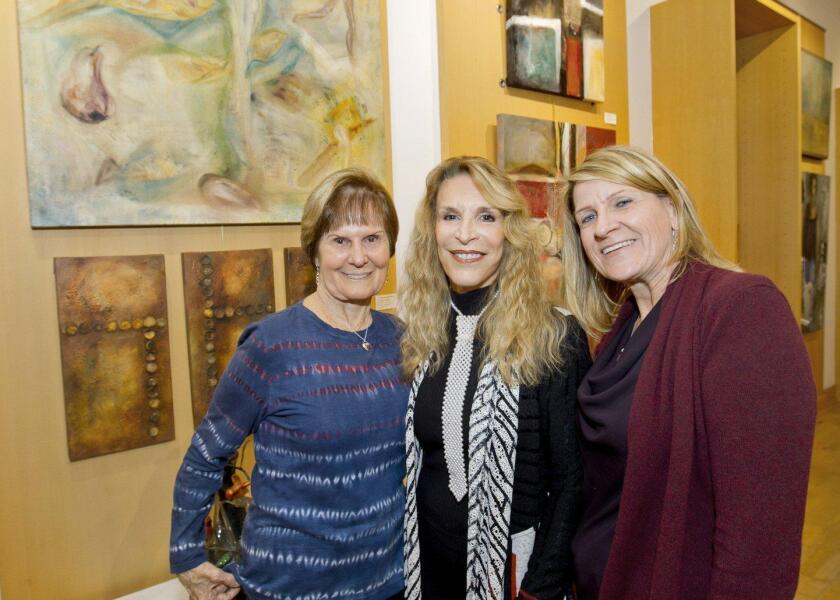 Suzanne Chelesnik, Maidy Morhous (President DMAC), Debbie Chelesnik