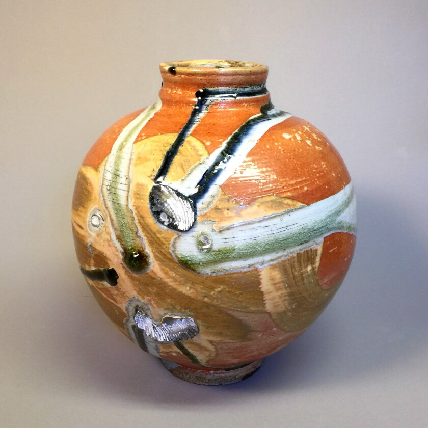 A photo of Side-Fired Jar by Allen Reed