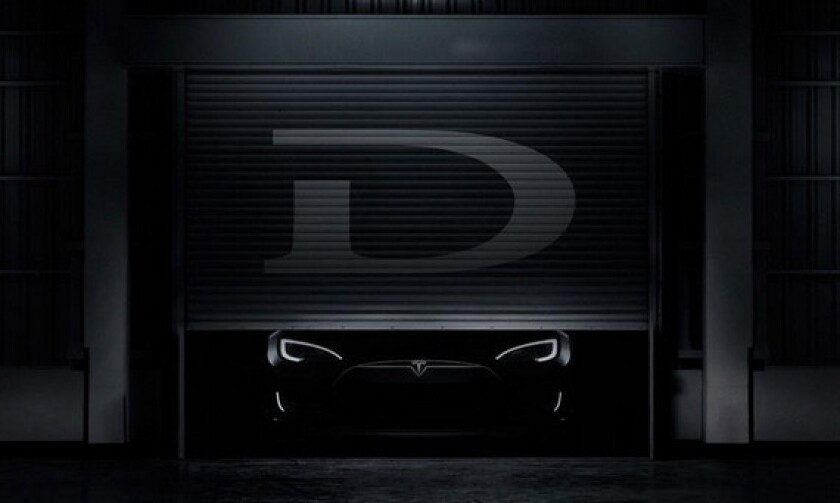 Tesla announcement