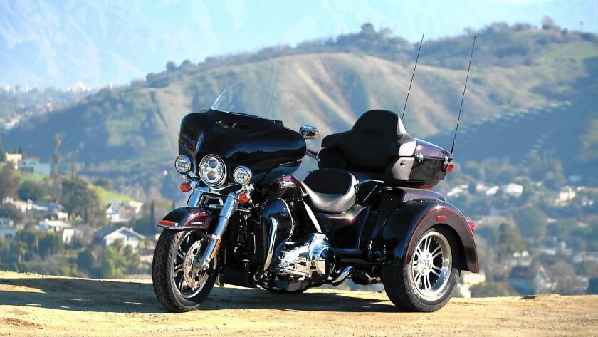 Harley's Tri Glide Ultra is a road warrior