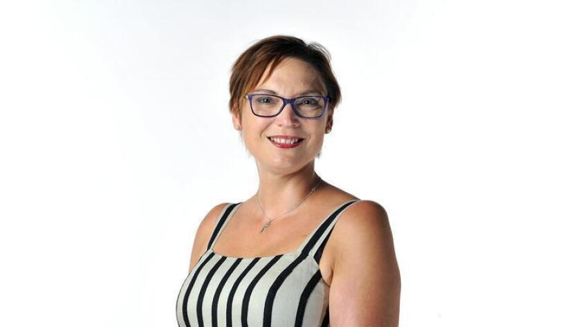 Emma Hughes, owner and principal of SpaBlue at Del Mar. (Rick Nocon)