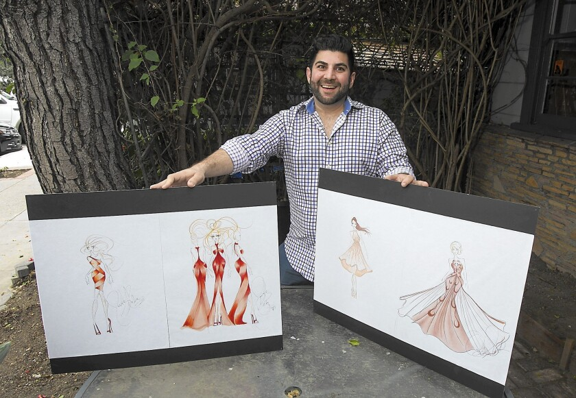 It S All About The Bass And His Groom For Fashion Designer Los Angeles Times