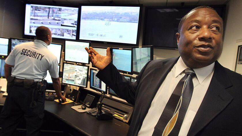 Ronald J. Boyd, the former Port of Los Angeles police chief.